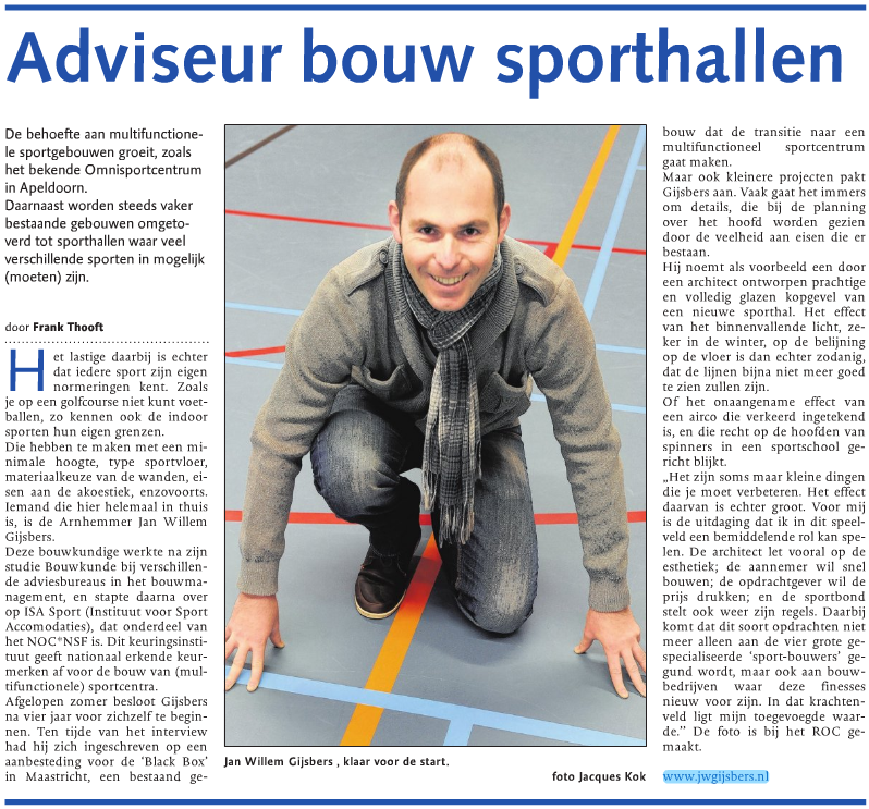 Interview Gelderlander
